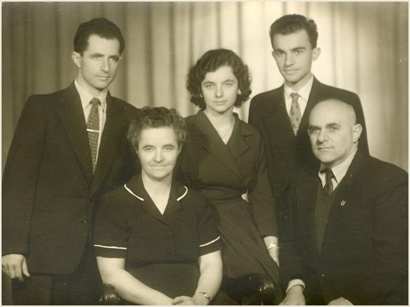 Семейството на Любка Рондова, Прага, 1959